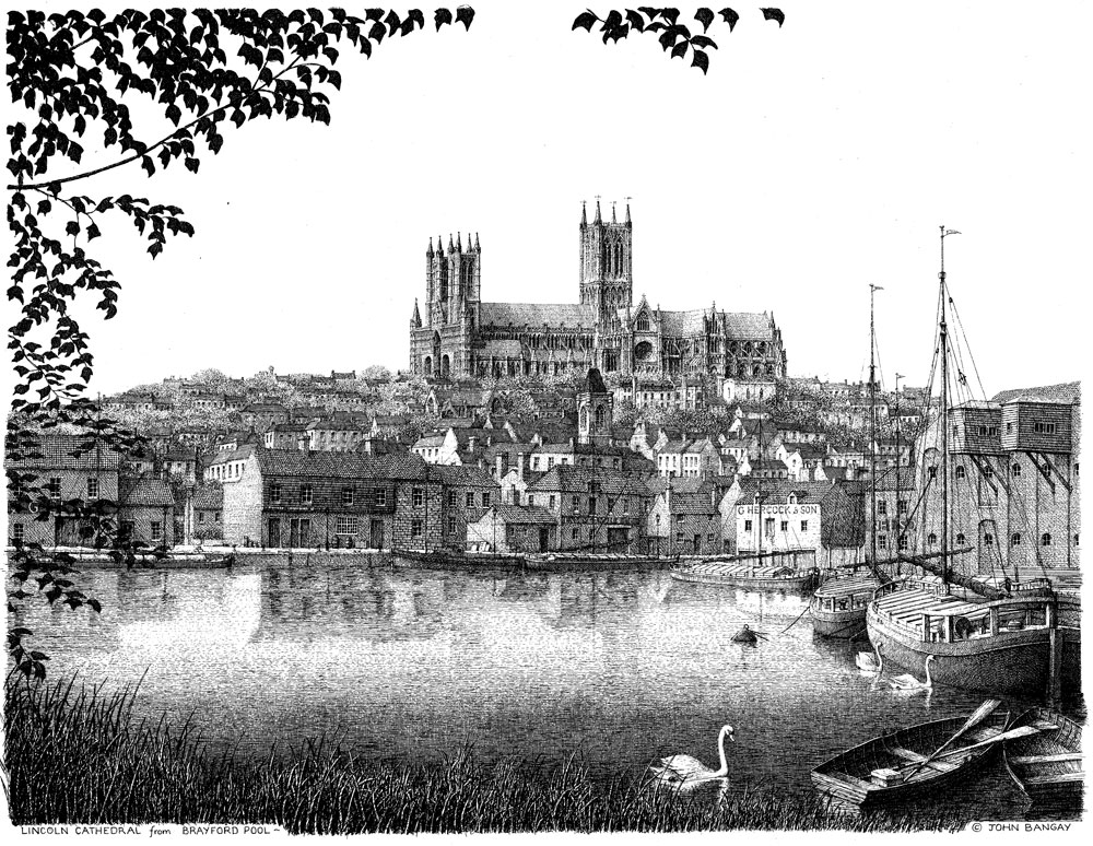 Lincoln Cathedral Brayford Pool