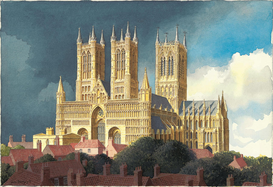Lincoln-Cathedral-watercolour