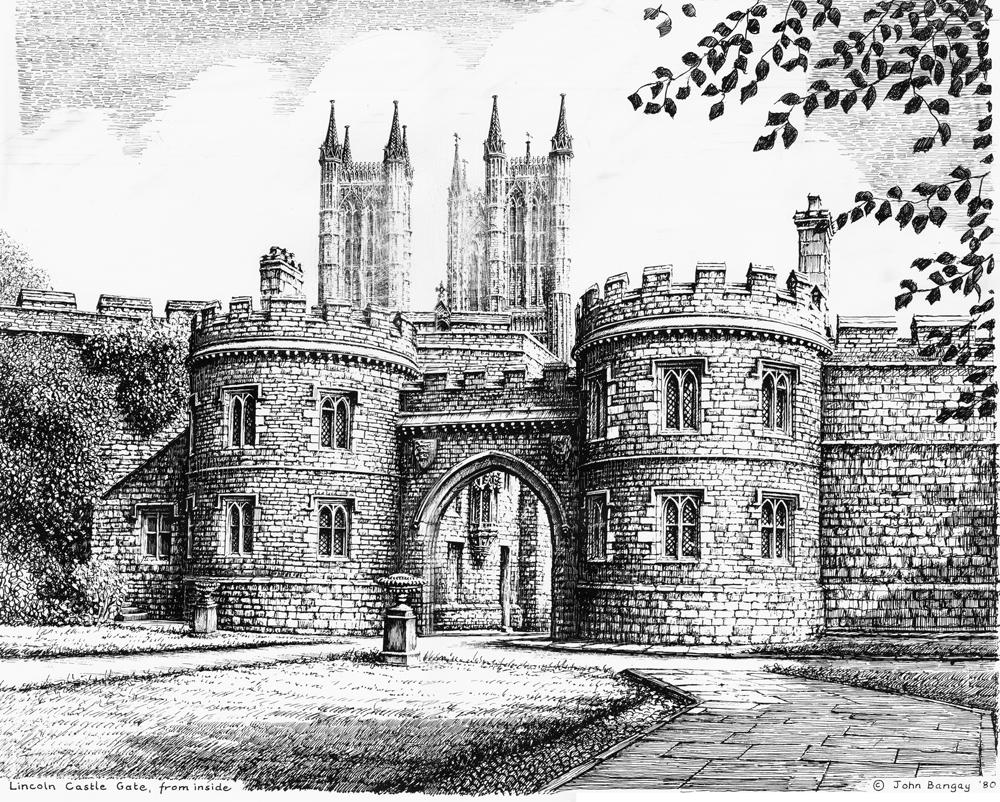 Lincoln Cathedral John Bangay