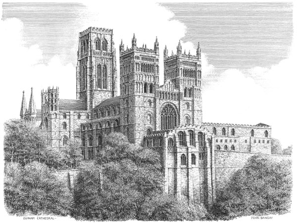 Durham Cathedral, Northumberland Image