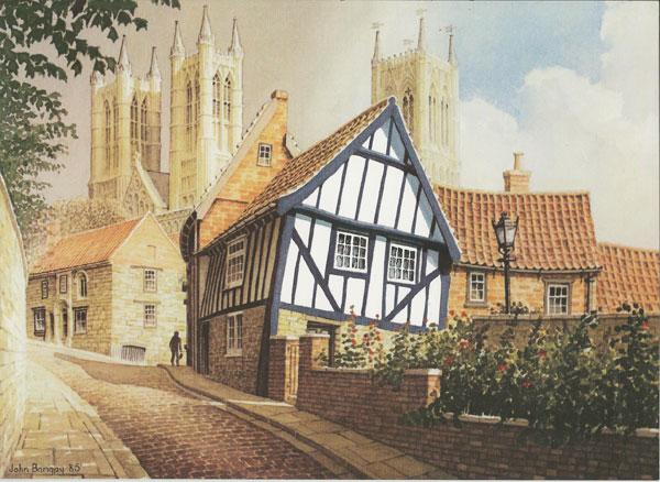 Michealgate, Lincoln, Lincolnshire Image