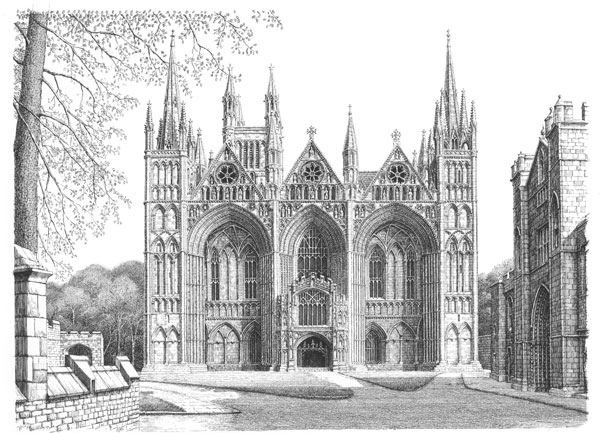 Peterborough Cathedral, Cambridgeshire Image