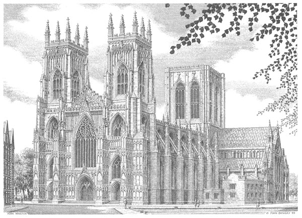 York Minster West Front