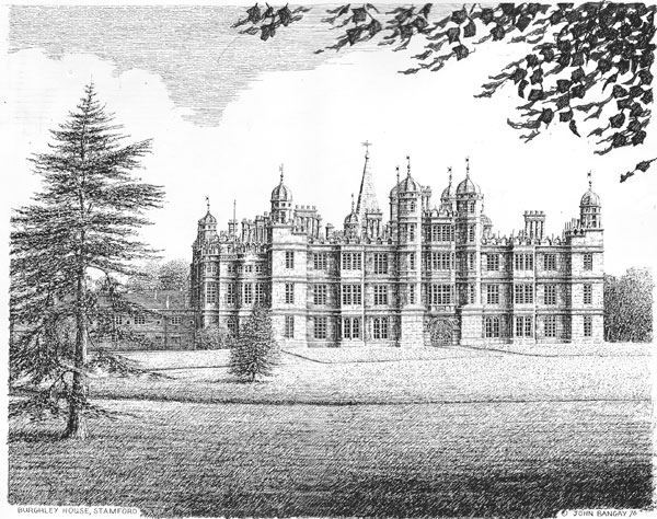 Burghley House, Stamford, Lincolnshire Image
