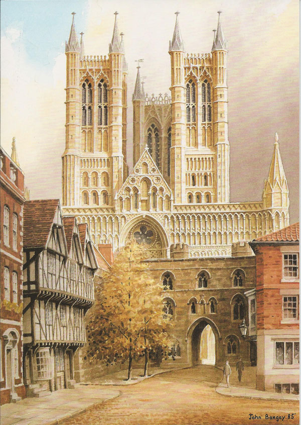 Lincoln Cathderal from Castle Square, Lincolnshire Image