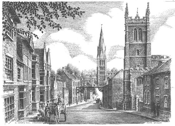 St Mary's Hill, Stamford