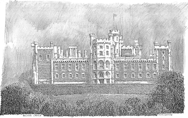 Belvoir Castle north