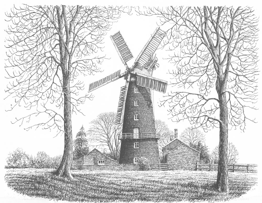 Alford Windmill, Lincolnshire Image