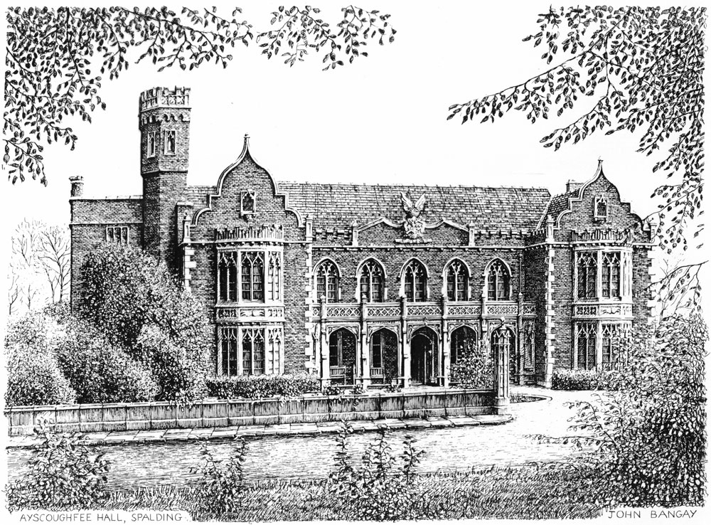 Ayscoughfee Hall, Spalding Image