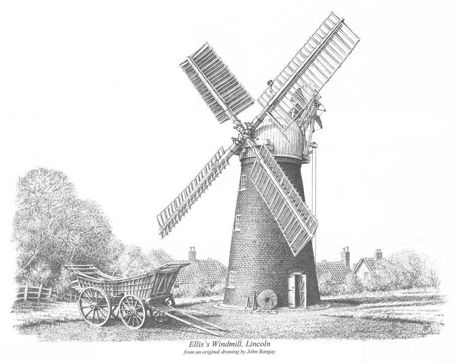 Ellis Windmill, Lincoln, Lincolnshire Image