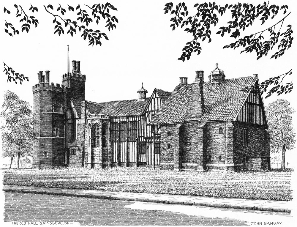 Gainsborough Old Hall, Lincolnshire Image