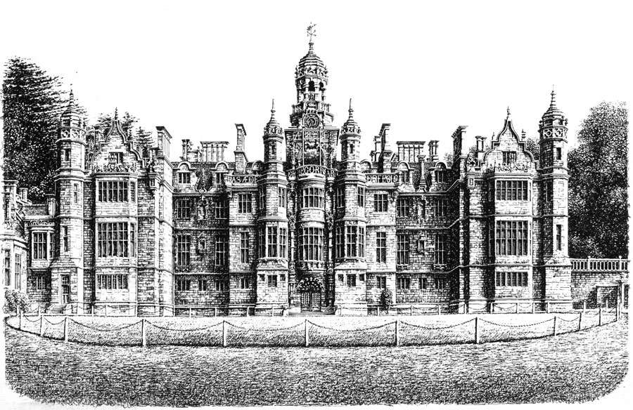 Harlaxton Manor, Lincolnshire Image