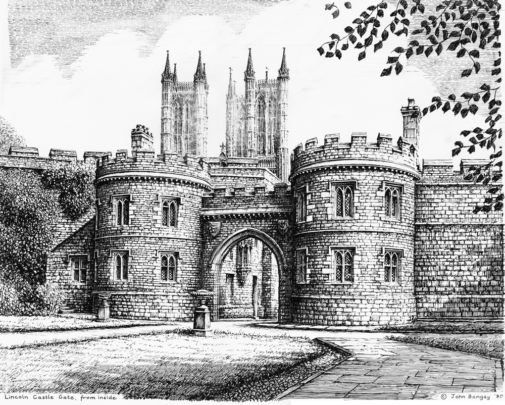 Lincoln Castle Gate, Lincolnshire Image