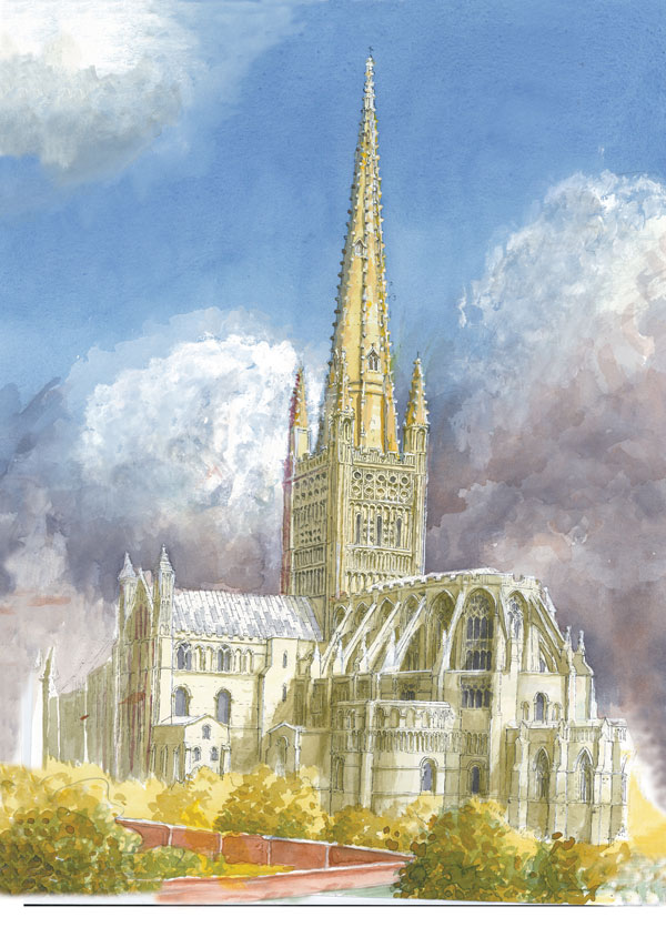 Norwich Cathedral, Norfolk Image
