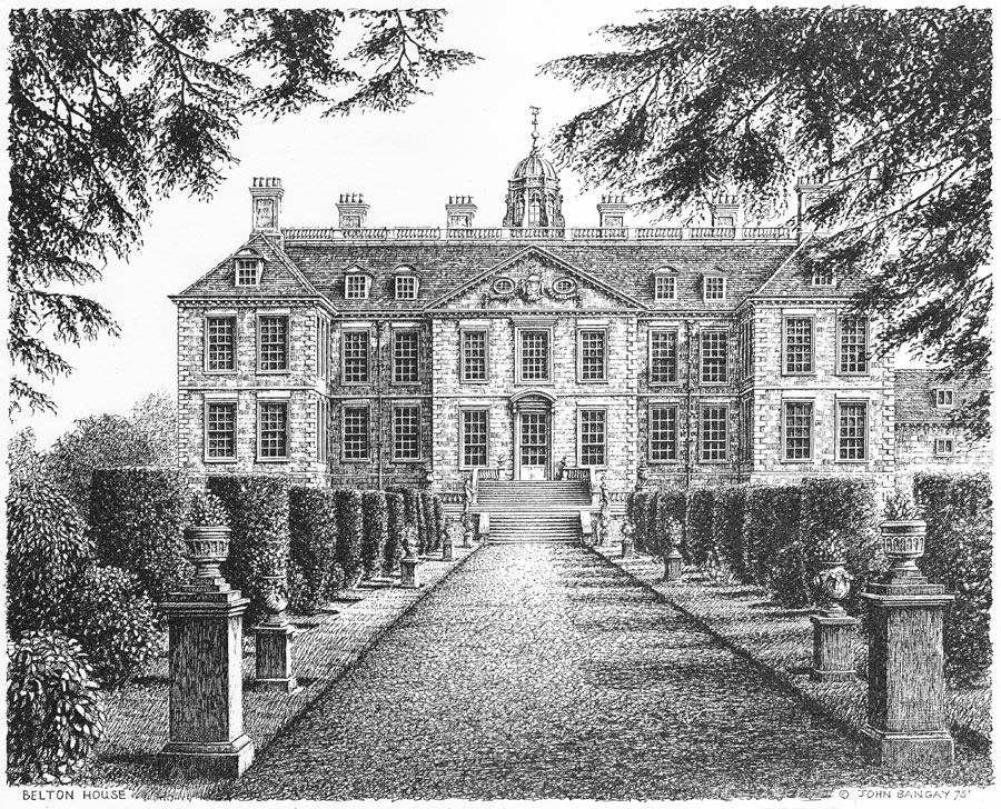 Belton House, Lincolnshire Image