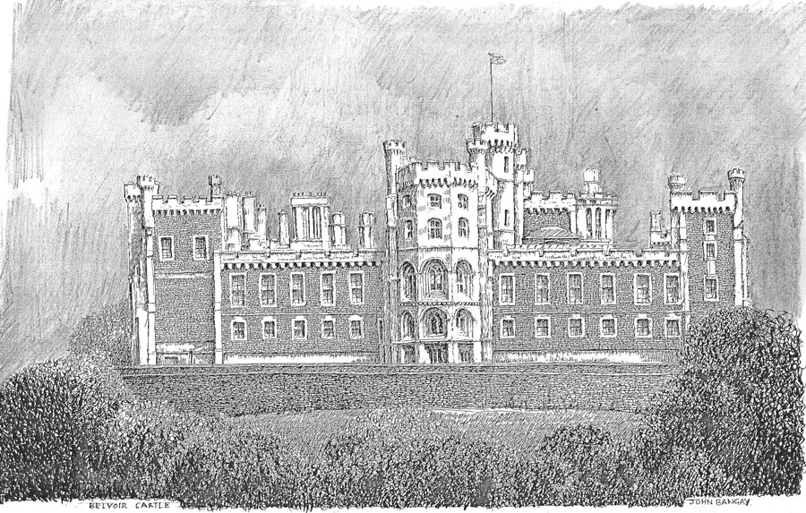 Belvoir Castle, Leicestershire Image