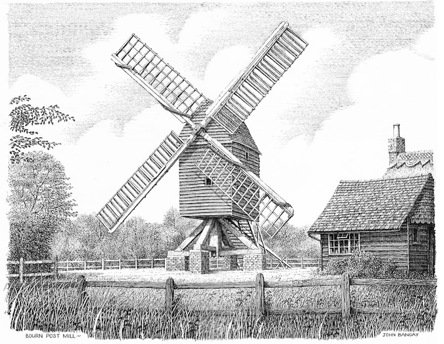 Bourne Windmill, Lincolnshire Image