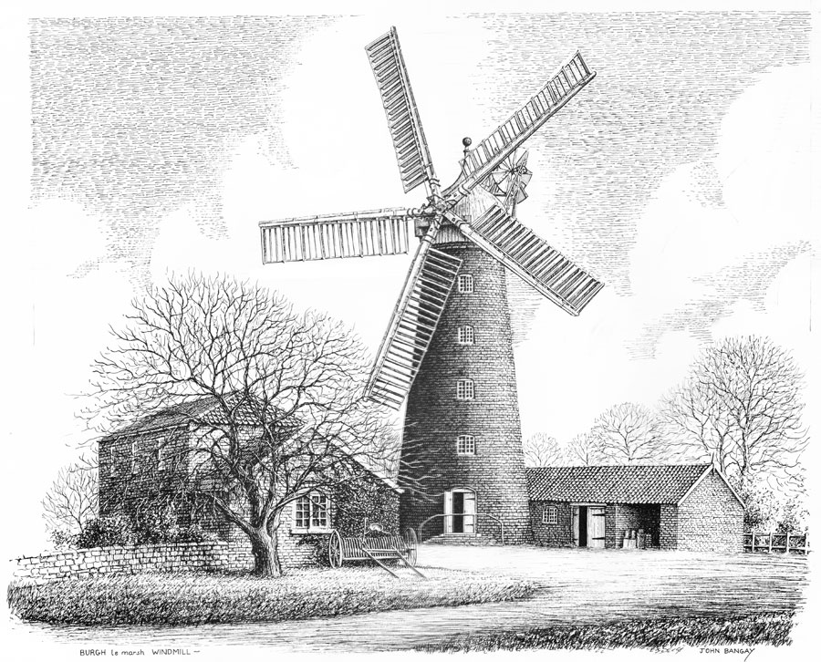 Burgh le Marsh Windmill, Lincolnshire Image