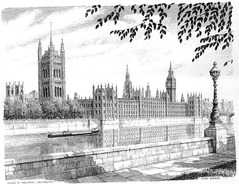 Houses of Parliament, London Image