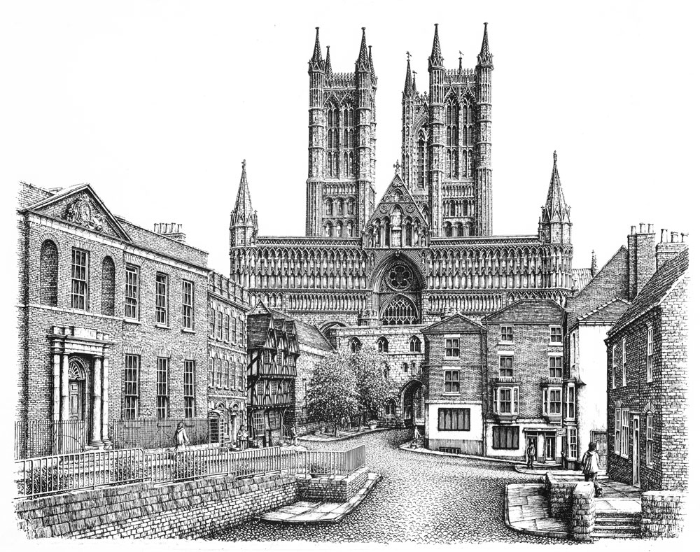 Lincoln Cathedral Castle Square, Lincolnshire Image