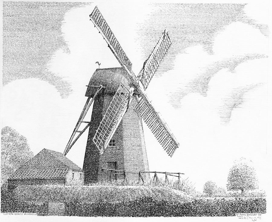 Lutton Windmill, Lincolnshire Image