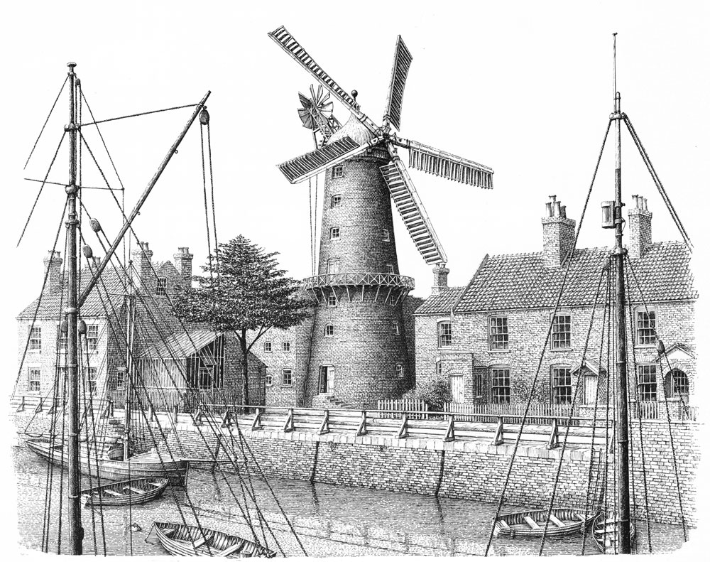 Maud Foster Windmill, Boston Image