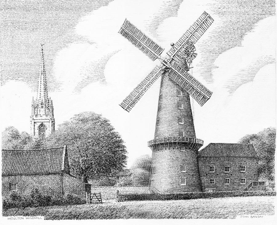 Moulton Windmill, Lincolnshire Image