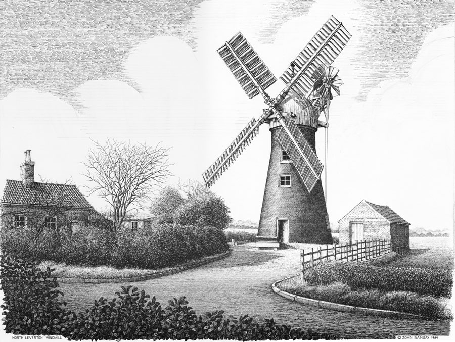 North Leverton Windmill, Nottinghamshire Image