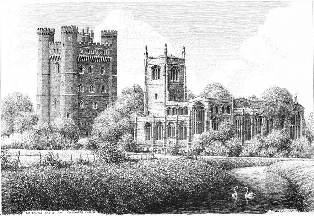 Tattershall Castle and Church, Lincolnshire Image