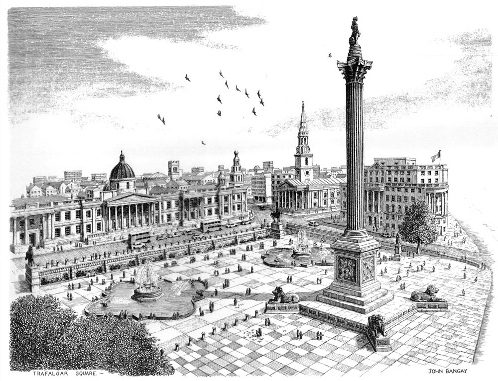 Trafalgar Square, City of London Image